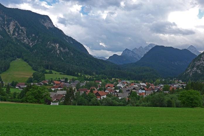 Alpes Julianos, Eslovénia