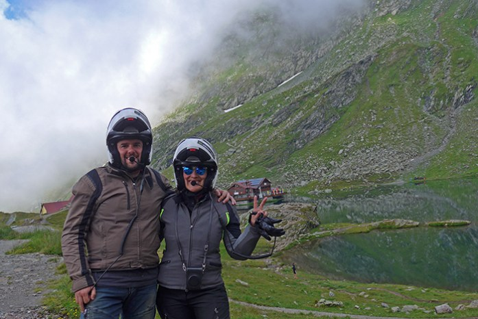 Em Transfagarasan, Fagaras Mountains, Roménia
