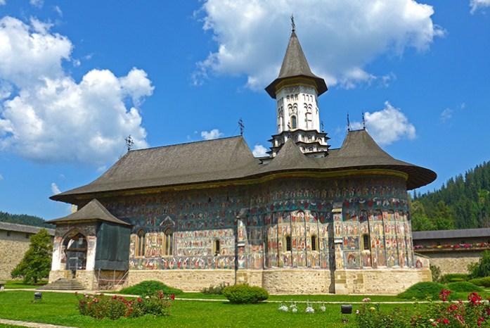 Rota dos Mosteiros de Bucovina. Mosteiro de Sucevita