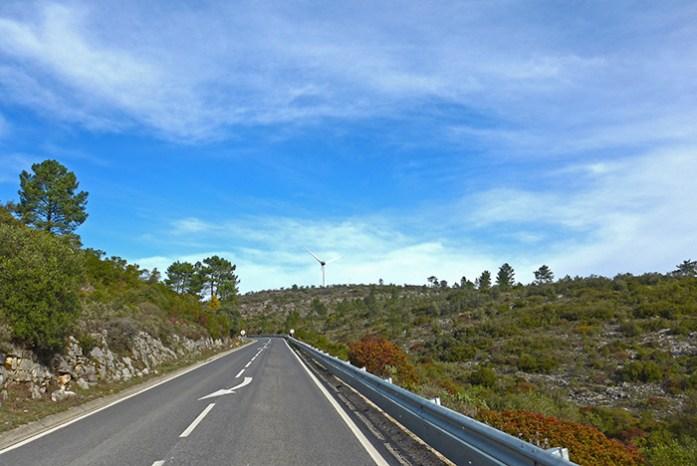 Estrada N357, Parque Natural das Serras de Aire e Candeeiros