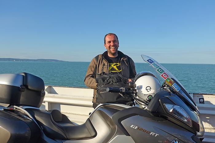 Travessia de ferry do Lago Balaton, Hungria