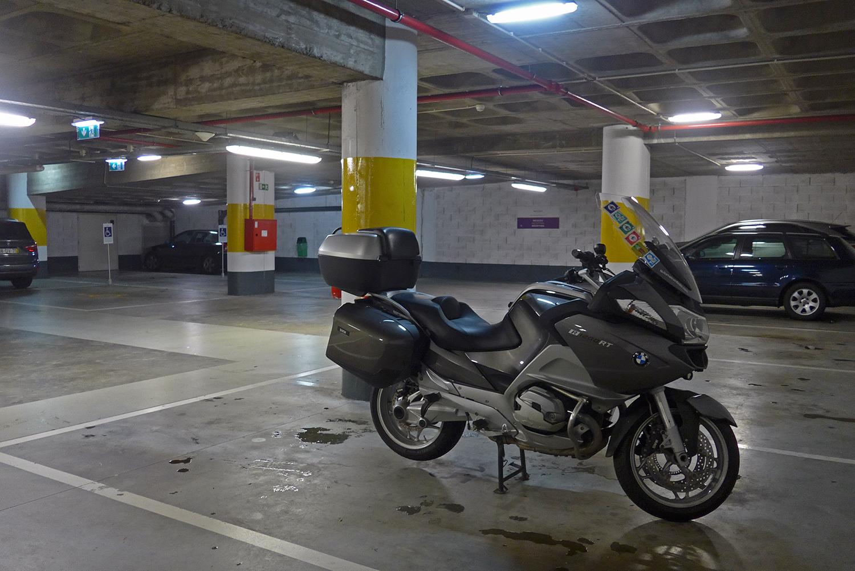 Garagem do Hotel Mercure Porto Gaia