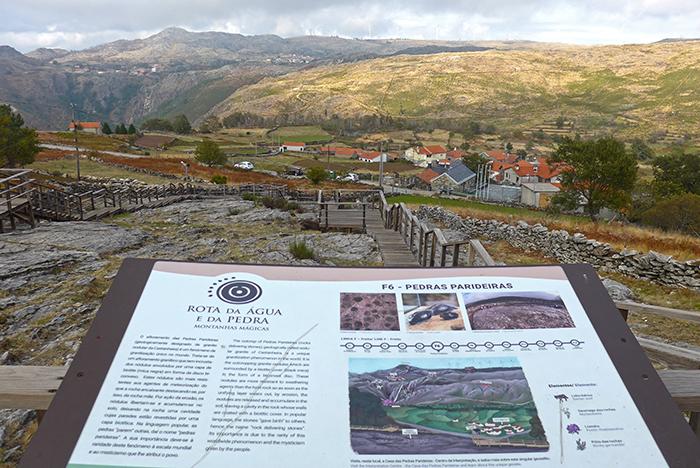 Centro de Interpretação das Pedras Parideiras, Aldeia de Castanheira, Serra da Freita