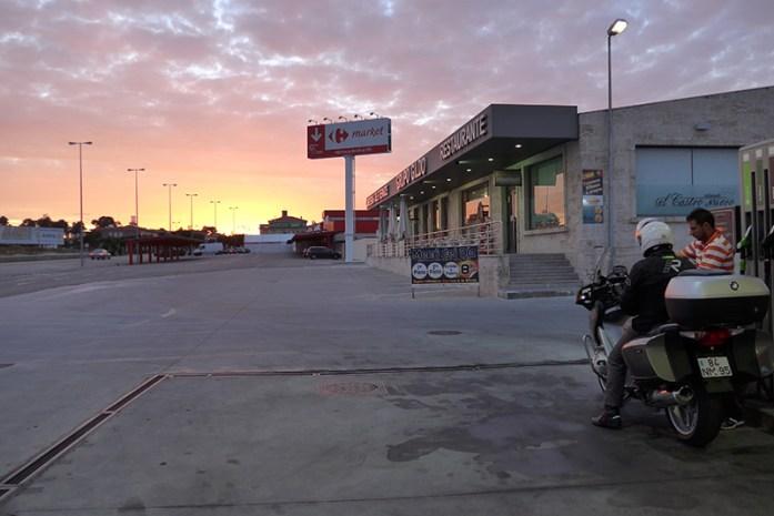 Posto de Abastecimento fronteira Portugal/Espanha em Vilar Formoso