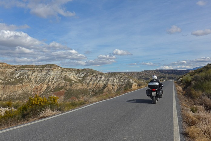 Estrada GR6100. Viagem de moto pela Andaluzia. Sul de Espanha