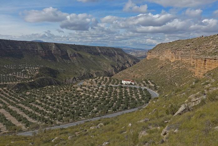 Viagem de moto pela Andaluzia. Sul de Espanha