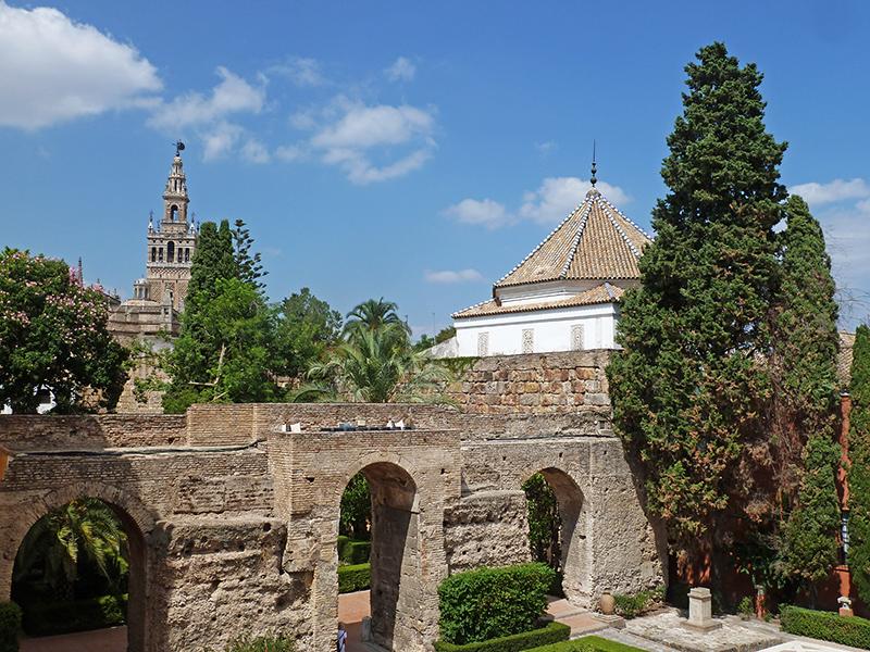 Viagem de mota pela Andaluzia: Em Sevilha.