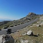 Viagem de moto pela Andaluzia, Sul de Espanha. Rota panorâmica do El Torcal de Antequera