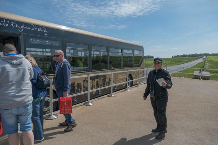 Transfer do Centro de Visitantes para Stonehenge