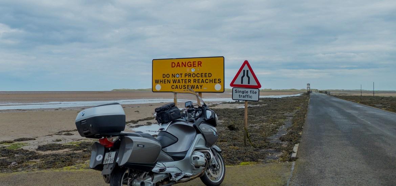 Lindisfarne Causeway, Hoy Island Motorcycle