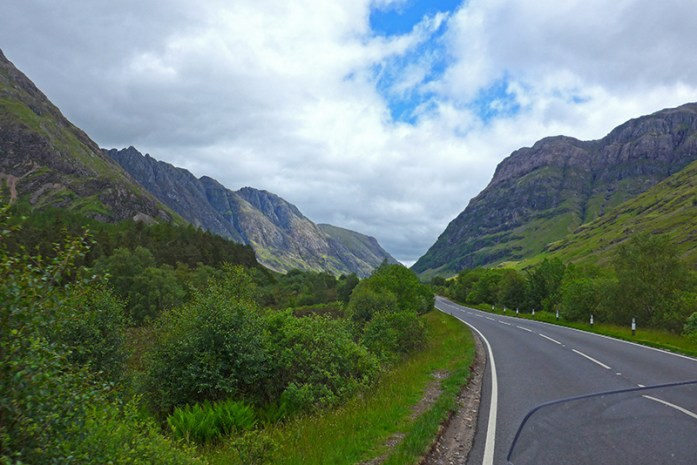 Estrada A82 Glencoe