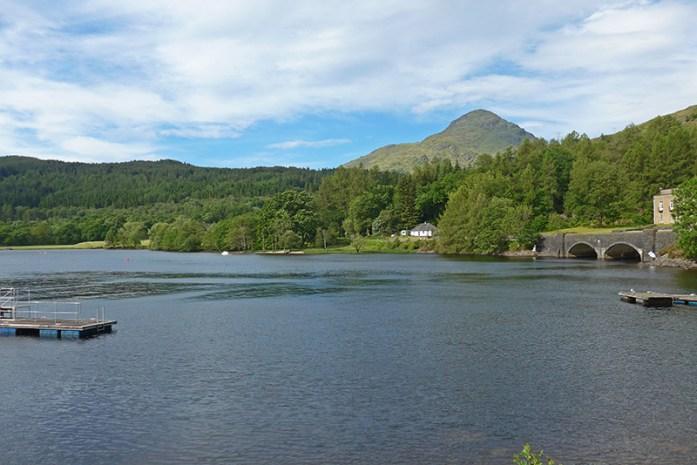 Estrada A82, Loch Lomond, Escócia