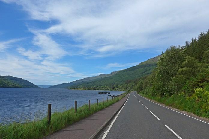 Estrada A82, Glencoe a Loch Lomond