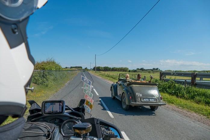 Estrada D514, comemorações dos 75 anos do Dia D