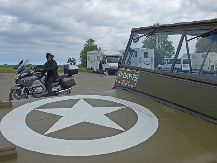 Omaha Beach, comemorações dos 75 anos do Dia D