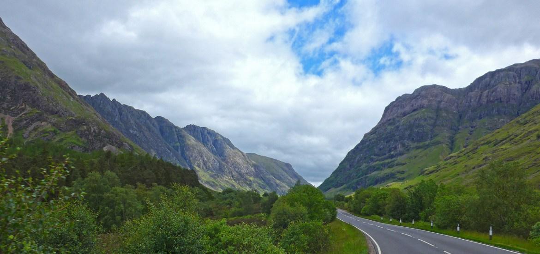 A82, Glencoe - Loch Lomond, Escócia