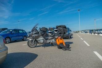 Como chegar de mota ao Reino Unido Inglaterra