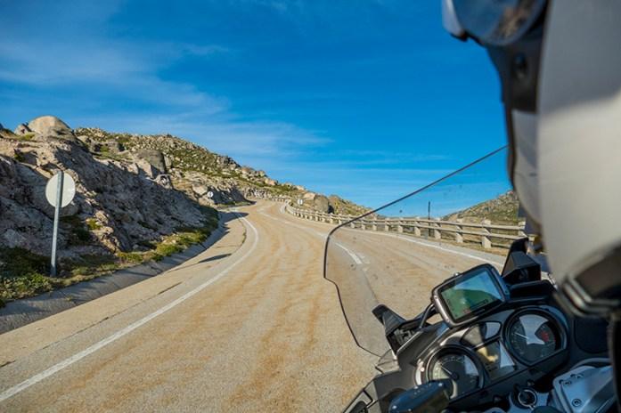 Loriga Pass, Estrada N338