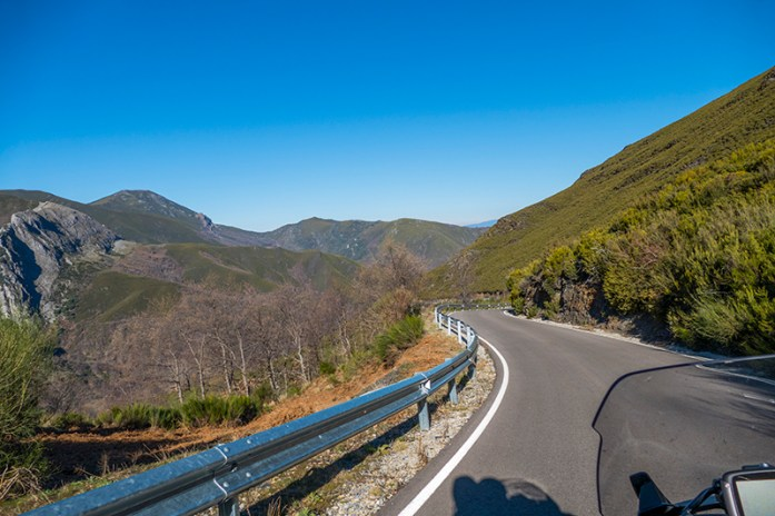 A caminho do Valle del Silencio