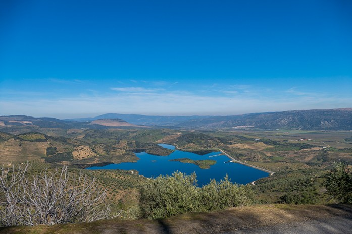 Vale da Vilariça: Miradouro da Horta da Vilariça