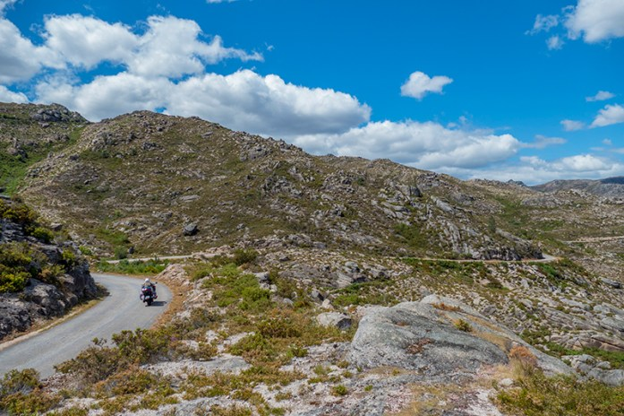 Serra do Gerês Estrada EM308 entre o Cabril e a Paradela