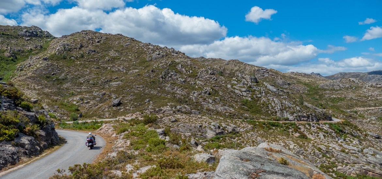 Viagem de mota pelo Parque Nacional da Peneda Gerês