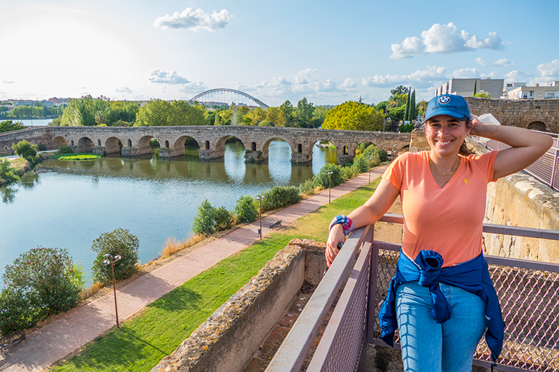 Locais a visitar em Mérida Viagem de mota pela Extremadura.