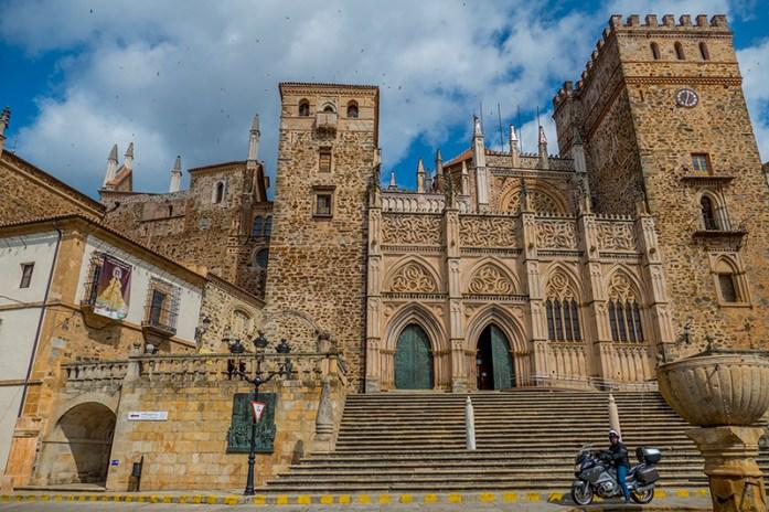 Viagem de mota pela Extremadura