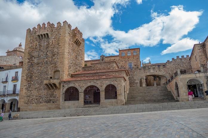 Cidade Velha de Cáceres, Plaza Mayor