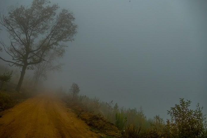 Serra do Açor e os dias sombrios