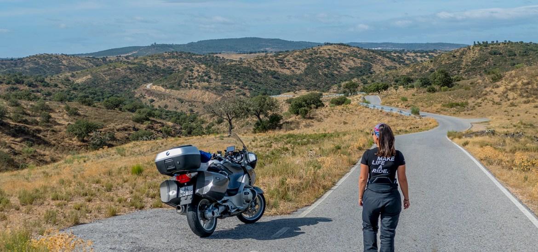 estradas que percorremos de mota no ano 2020