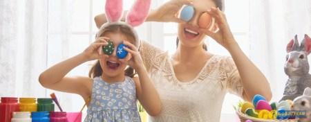 Tempos livres nas Férias de Páscoa: 7 ideias para crianças