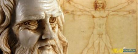 Leonardo Da Vinci de visita às crianças do Norte