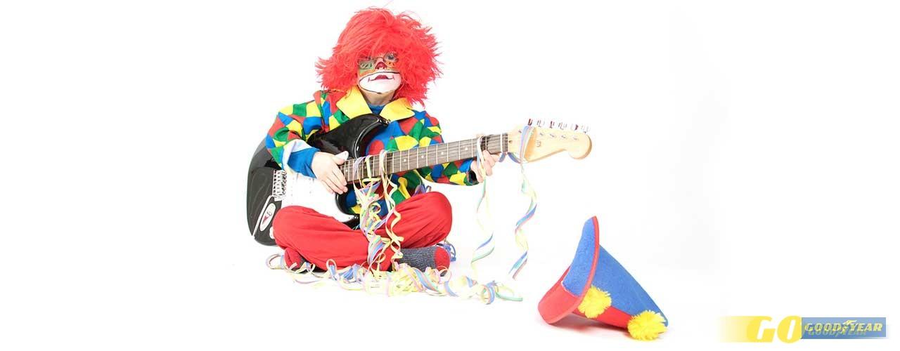 Música para conduzir: rock para desenjoar do Carnaval