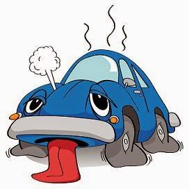 Overheated Car small