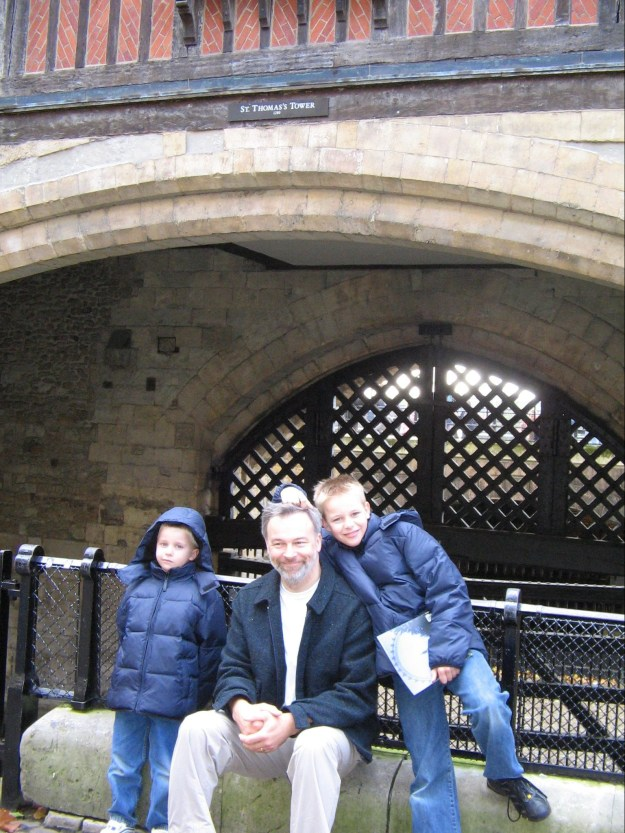 Tower of London - The Boys at St Thomas Tower 251005