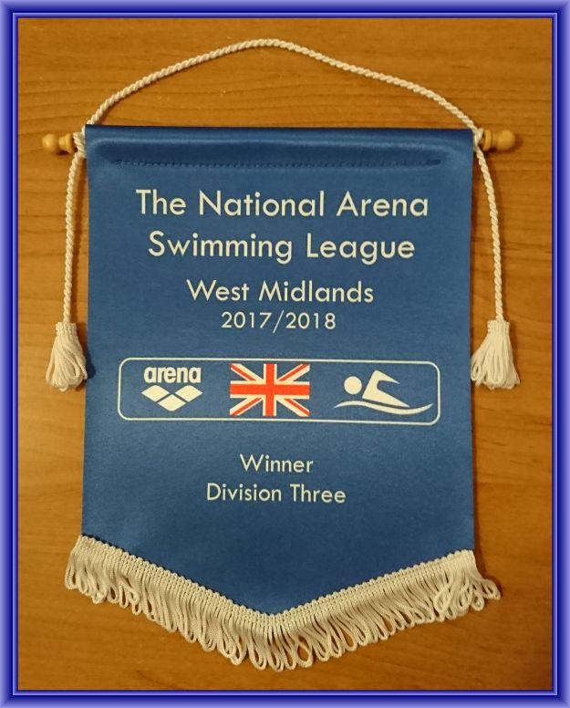 RASCALS Arena League Winners Div 3 2017 Banner