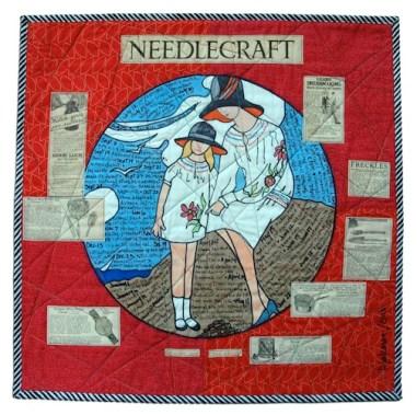"""26. """"Needlework 1928"""" Pauline Salzman Treasure Island, Florida"""