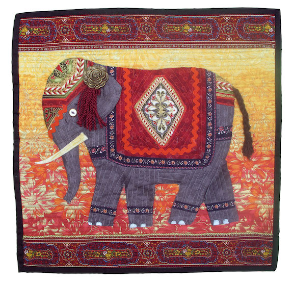 Elephant of India, Nita Markos, Hillsboro, Illinois