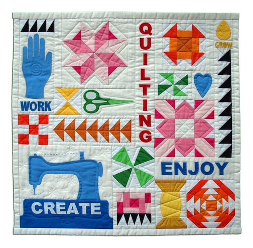 2. You like entering the yearly quilt contest...