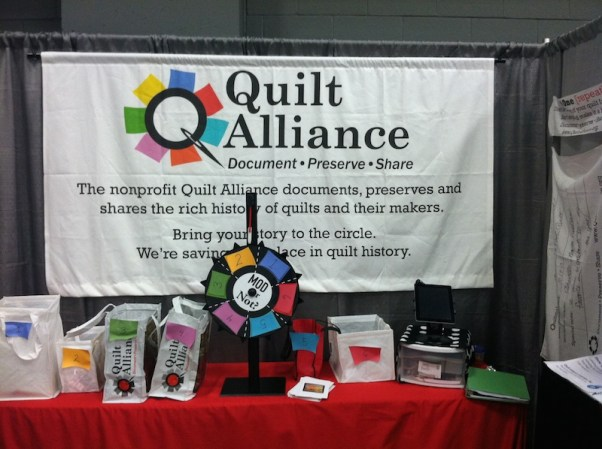 7. Bring us to the biggest quilt shows.