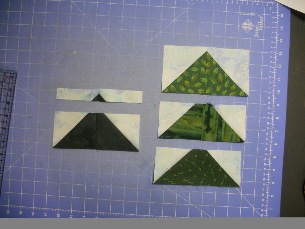 Treeline Border for Turtles Quilt (4/6)