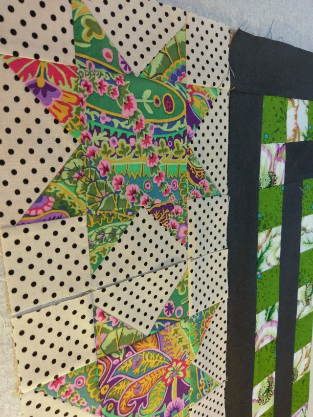 Border Quilt Star Blocks