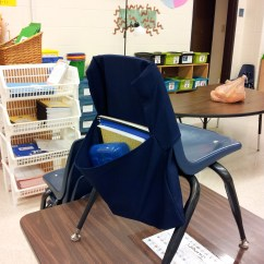 Diy Classroom Chair Covers Height Metal Stool Pockets And Seat Sacks Come Stitch With Me Llc Pocket Made From 65 Polyester 35 Cotton Canvas Fabric Commonly Known As Trigger
