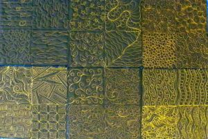 background fillers freehand machine quilting