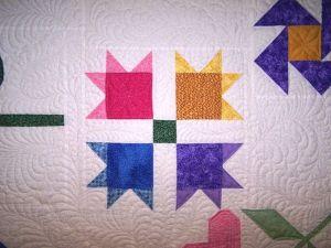 custom quilting sampler quilt longarm freehand