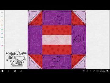 Churn Dash Quilting Idea Variation #7