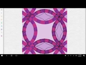 Double Wedding Ring Quilting Ideas Variation #4
