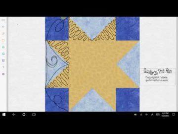 Sawtooth Star Variation #6