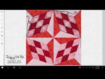 Quilting Ideas Four Block Star Variation #4